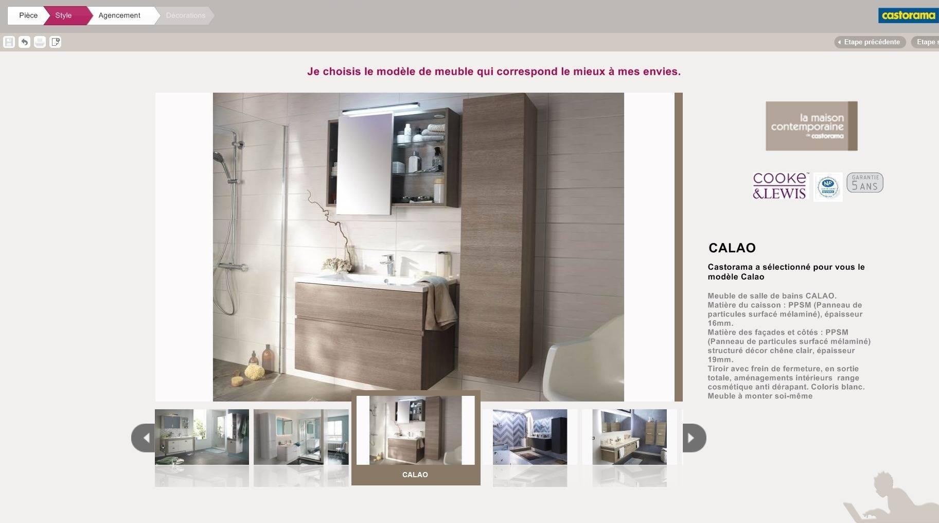 New Outil Salle De Bain Castorama