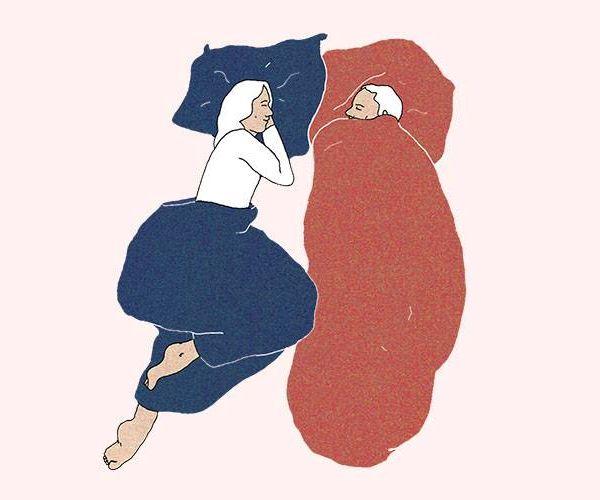Chacun sa couette pour bien dormir à deux ? La solution suisse