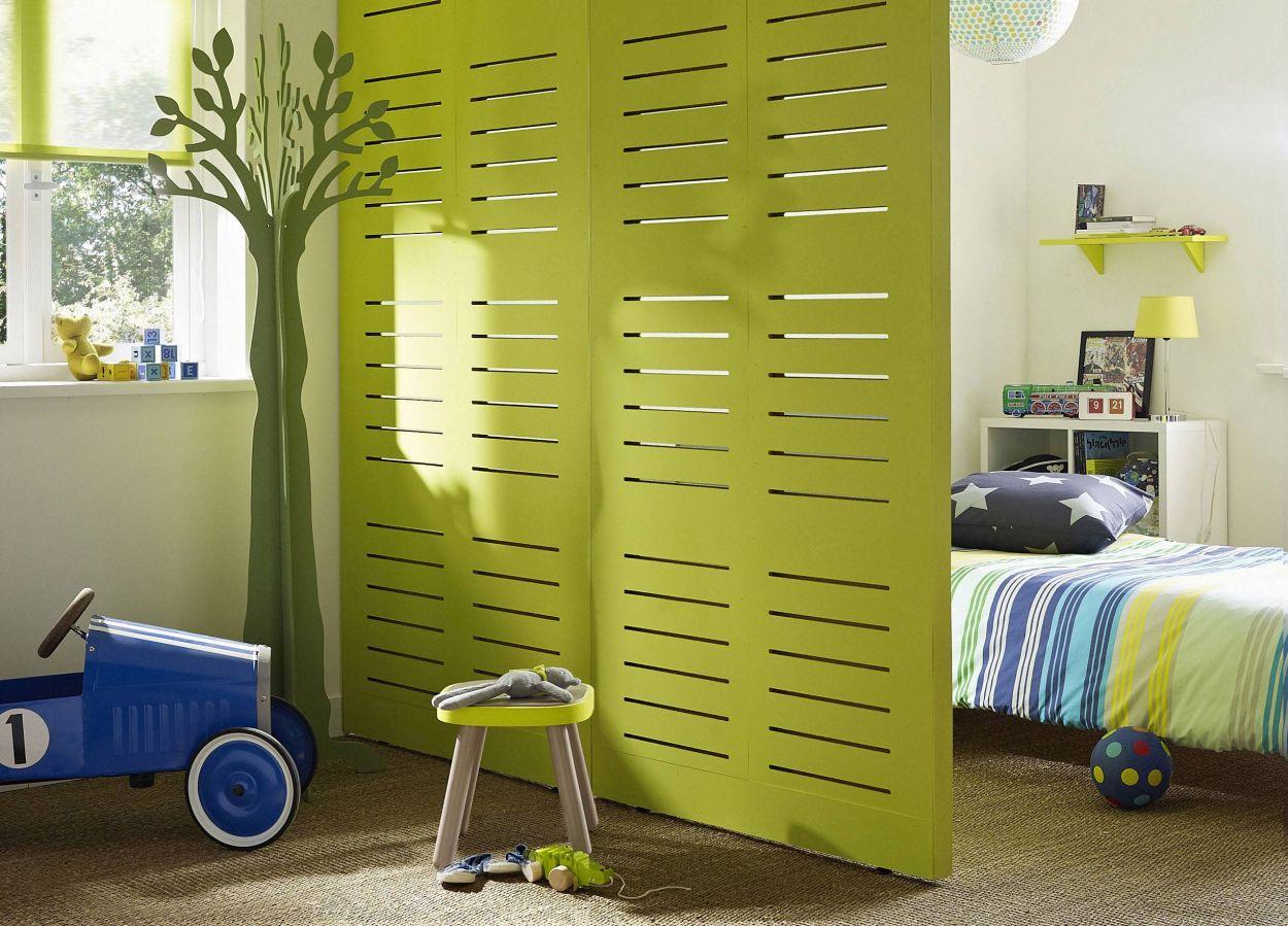 cloison amovible sans percer trendy une cloison dco pour sparer sans assombrir fabriquer une. Black Bedroom Furniture Sets. Home Design Ideas