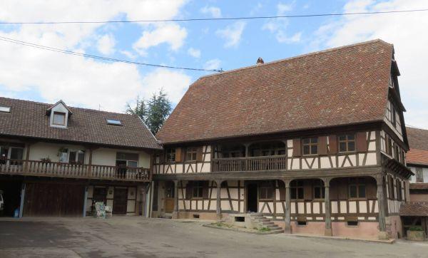 Une maison alsacienne à la pointe de l'écologie