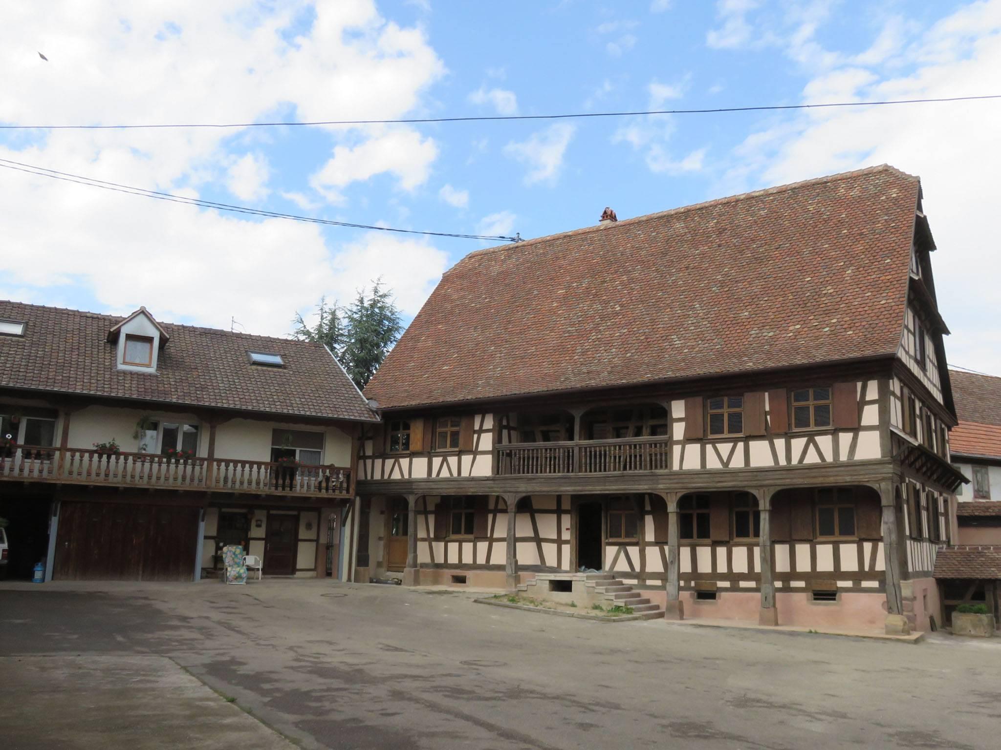 Rénover Une Maison Alsacienne maison alsacienne restaurée en maison bbc - isolation
