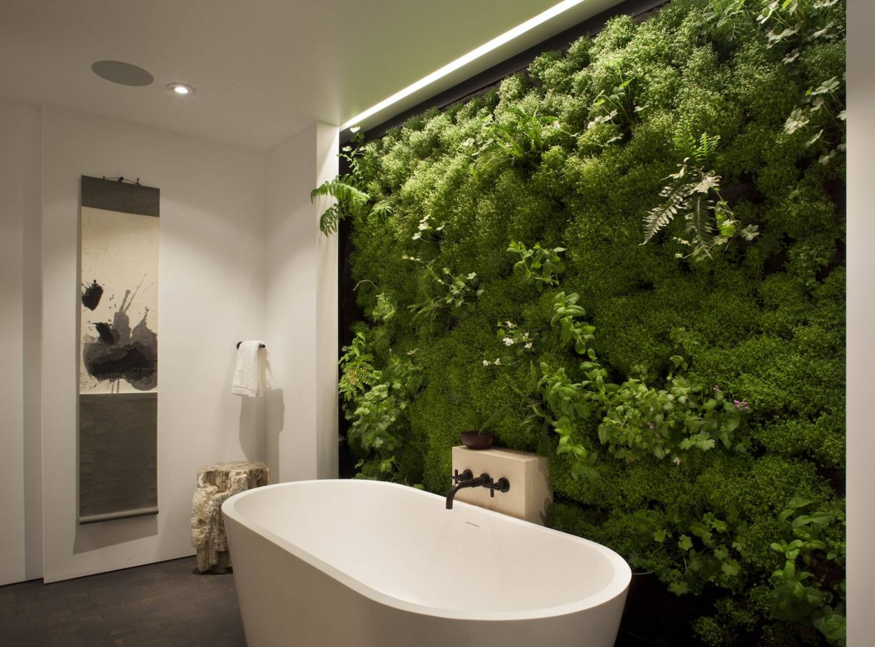 Comment fabriquer un mur avec des plantes cr er un mur - Mur vegetal interieur diy ...