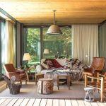 Salon de la maison témoin du projet PATH, réalisée par Philippe Starck.