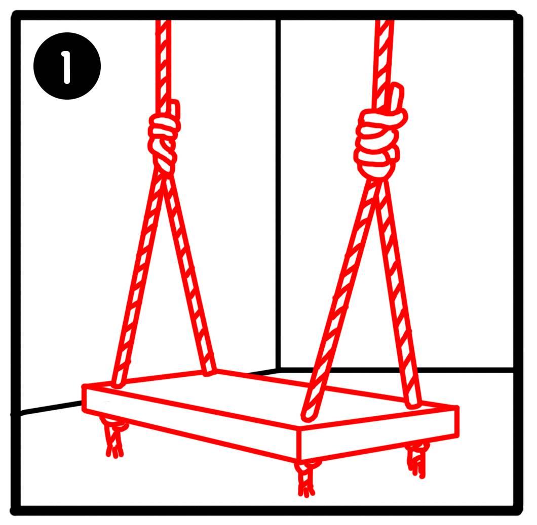Comment Fixer Une Balançoire À Une Branche D Arbre installer une balançoire chez soi - installer une balançoire