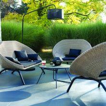 Jardin : Loa, un mobilier aux courbes pures
