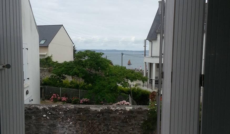 Douarnenez (Finistère), le 22 juillet. Un matin gris.