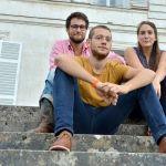 De gauche à droite, Yoann Vandendriessche, Valentin Martineau et Audrey Bigot travaillent sur Biceps Cultivatus.