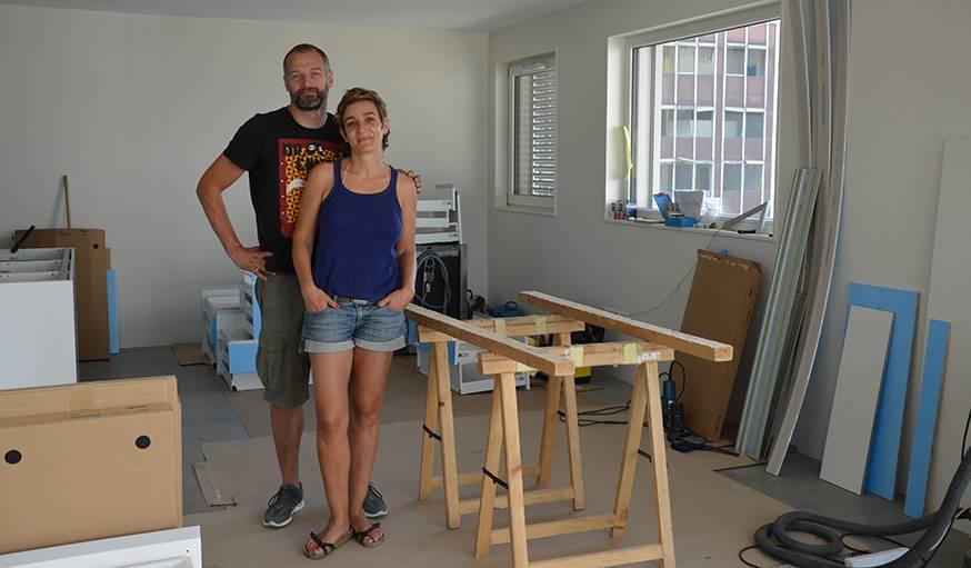 habitat participatif et autopromotion visite de l immeuble k hutte strasbourg. Black Bedroom Furniture Sets. Home Design Ideas