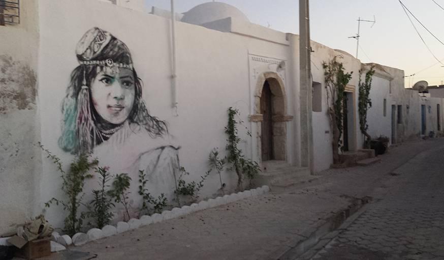 Vu d'une fenêtre quelque part en Tunisie, le 4 août.