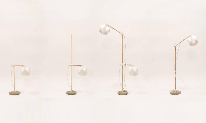 La petite lampe design qui monte