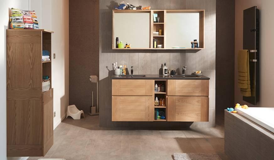 Chaque objet a sa place dans le concept modulable COOKE & LEWIS Essential 2. © Castorama