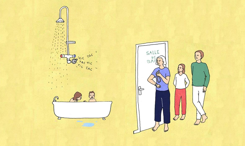 Tre plus rapide dans la salle de bains gagner du temps for Dans la salle de bain