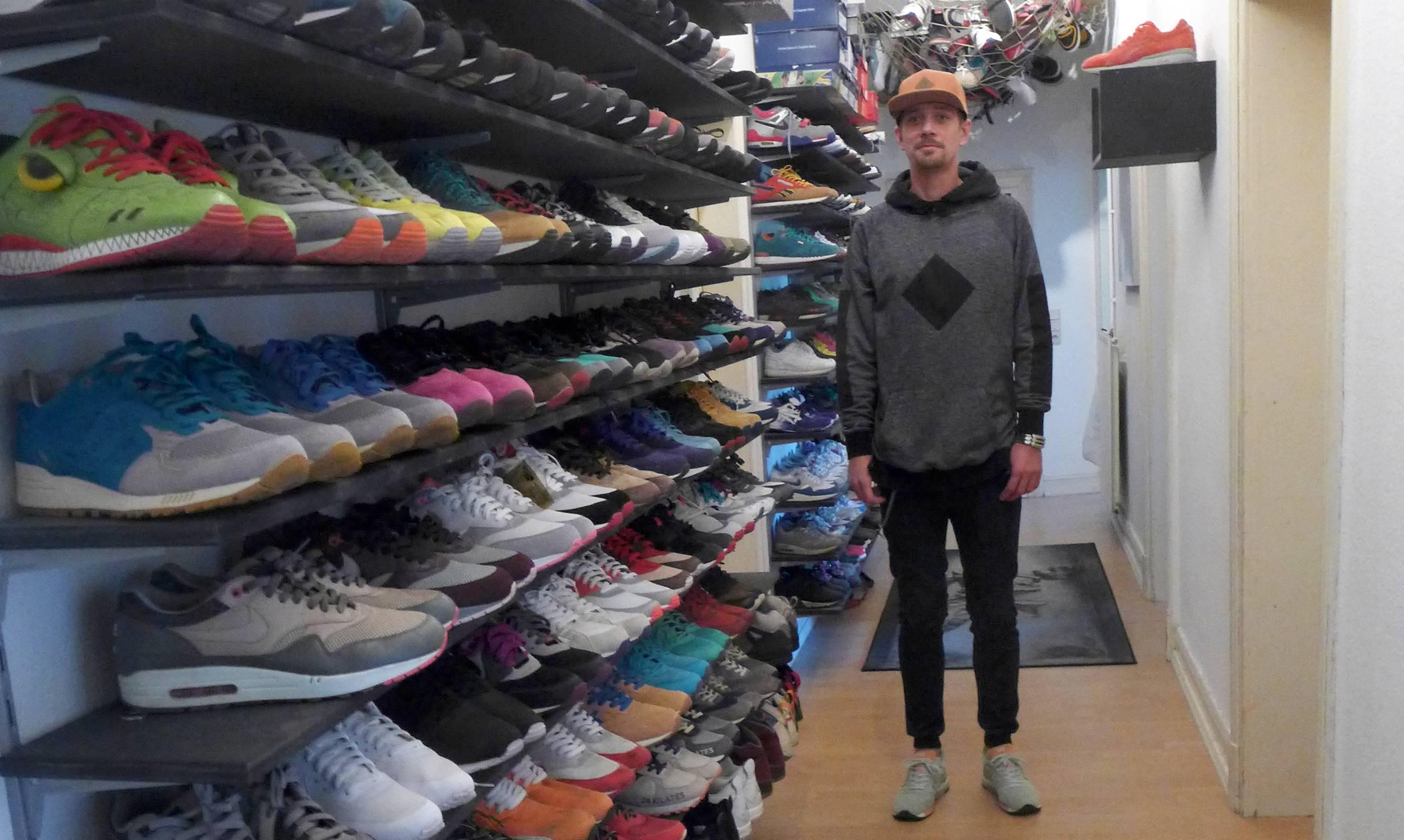 Comment Ranger Ses Chaussures une collection de baskets impressionnante - comment ranger