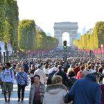 Les Champs-Élysées, dimanche 27 septembre lors de la journée sans voiture.