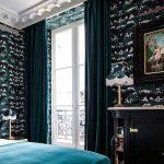 Abondance de motifs et luxe des matières, dans l'hôtel Providence à Paris.
