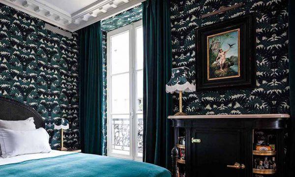 Inspiration : le style bourgeois de la chambre bleue