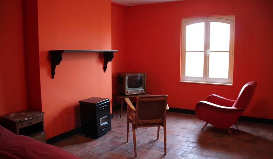 Appartement témoin tel que dans les années 1970.