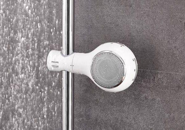 Enceinte waterproof pour chanter sous la douche