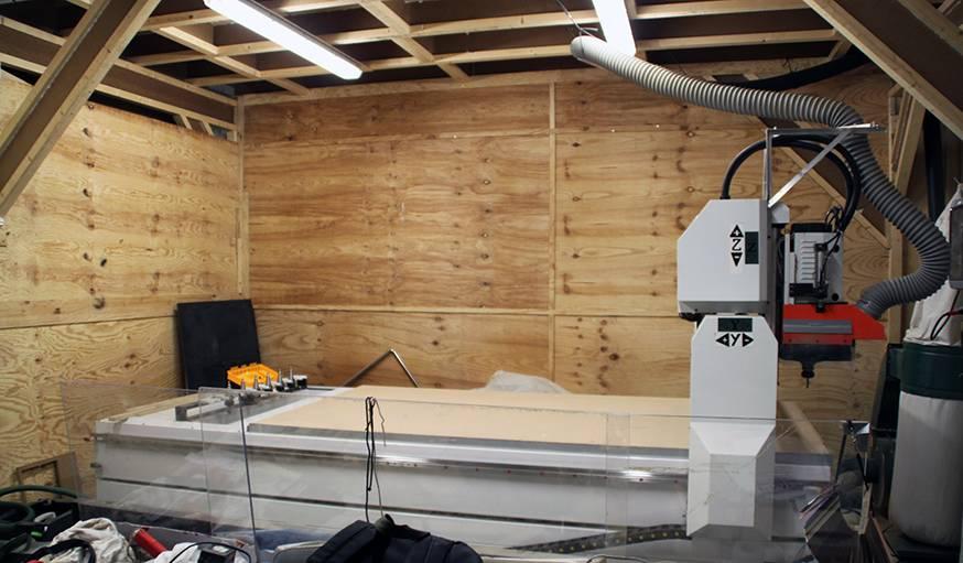 La Fab Lab a acquis en copropriété une fraiseuse numérique et une découpeuse laser.