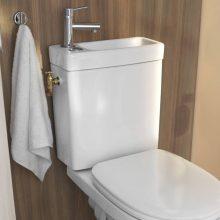 Un WC économe 2 en 1