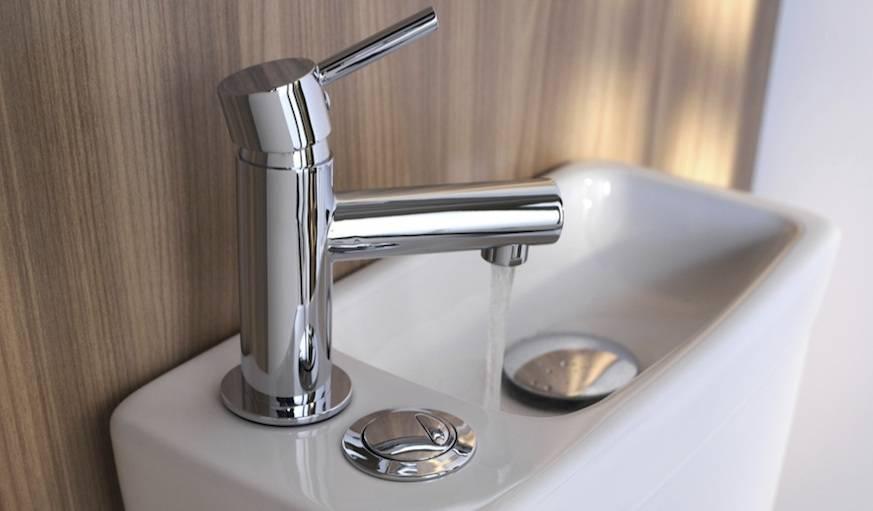 Toilettes avec lave-mains intégré Duetto