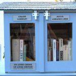 Une bibliothèque de rue à Meschers.