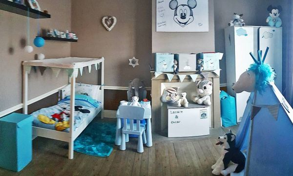 Une chambre d'aventurier pour bébé