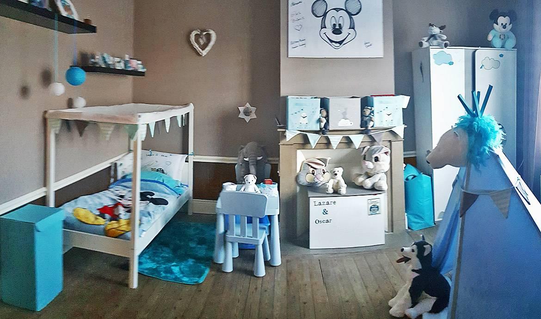 Décoration Chambre Bébé Fait Soi Même avant / après : décoration de chambre de bébé - lampions