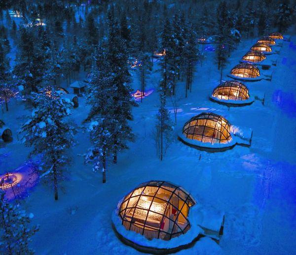 Laponie : Un igloo douillet pour observer la nature et découvrir le grand Nord