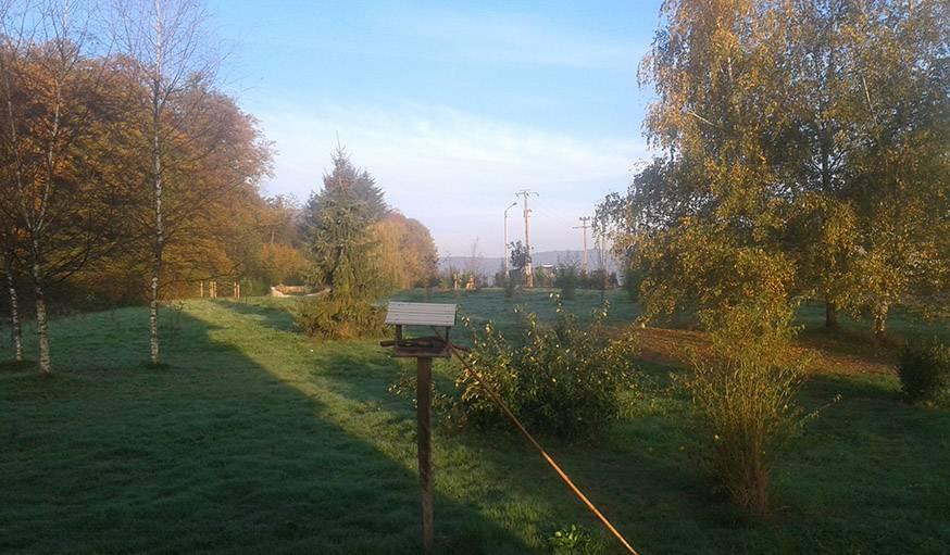 Un matin très tôt à Moimay (Haute-Saône), début novembre.