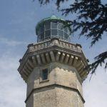 La coupole du phare culmine à 132 mètres.