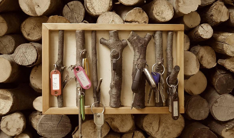 DIY : un tableau à clés branché et branchu