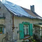 Une maison du sud-ouest Amiénois (Haute-Picardie), avant les travaux de rénovation.