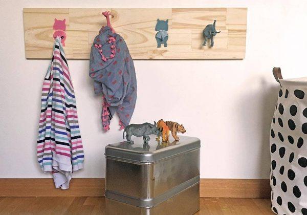 Porte manteau & patère enfant Décoration chambre enfants