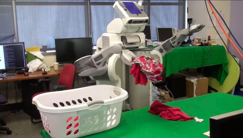 Un robot qui trie, lave et plie votre linge