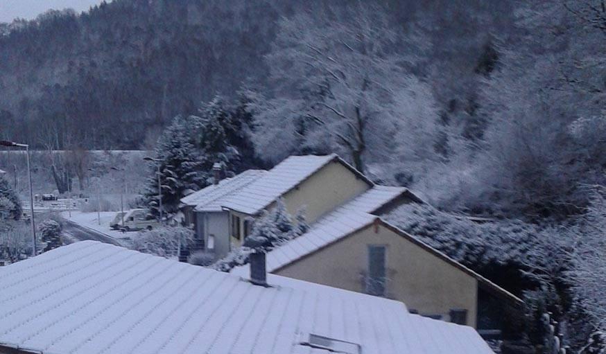 Neige encore...