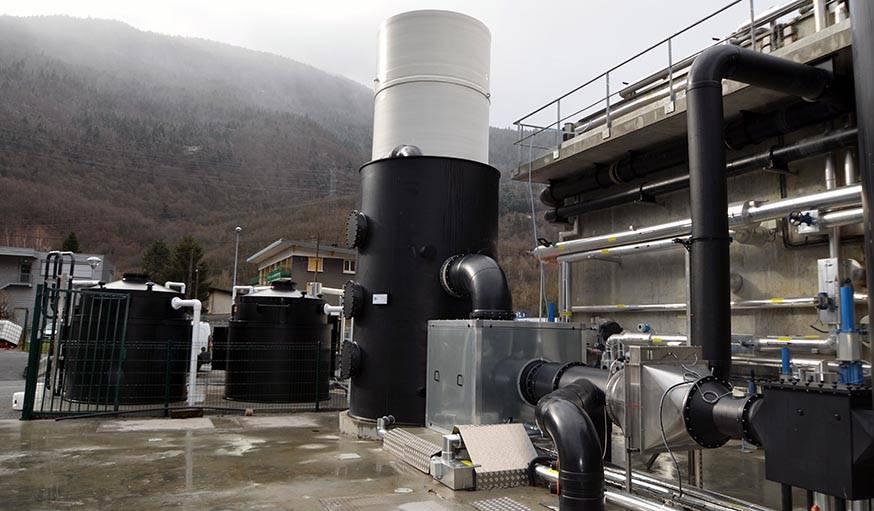 Les méthaniseurs permettent d'extraire du gaz du lactosérum par le biais de la fermentation aérobie.
