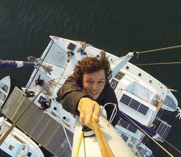 Un tour du monde à la voile : Le pari écolo de Corentin de Chatelperron