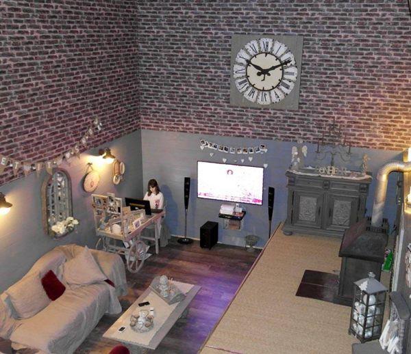 Grange rénovée pour maison familiale