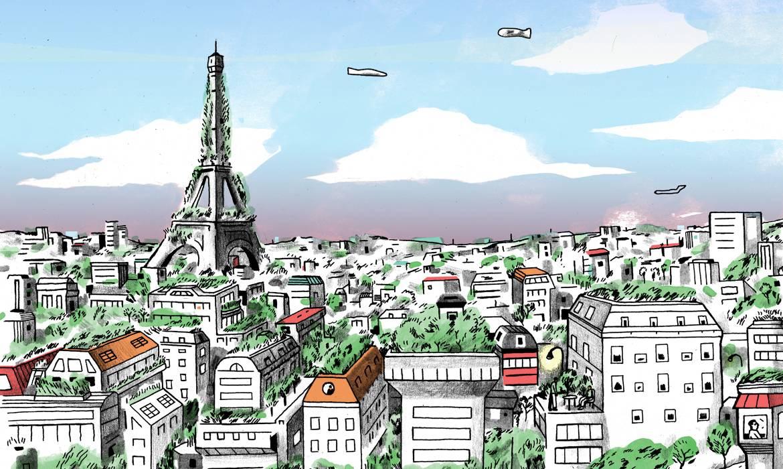 2050 : La plasticienne Naziha Mestaoui imagine un futur vert et communautaire