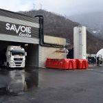 Le site de Savoie Lactée à Albertville, qui transforme le petit-lait en électricité.