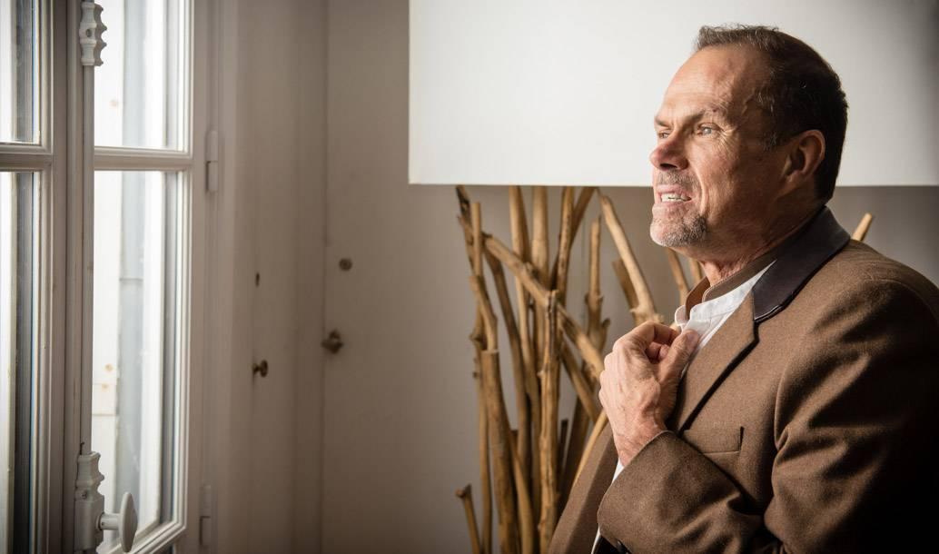 Éric Brun-Sanglard, architecte d'intérieur aveugle et sensible