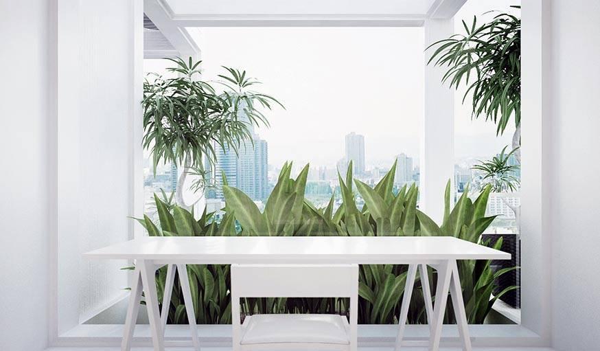 Voilà à quoi pourrait ressembler votre bureau si vous emménagiez là-bas.