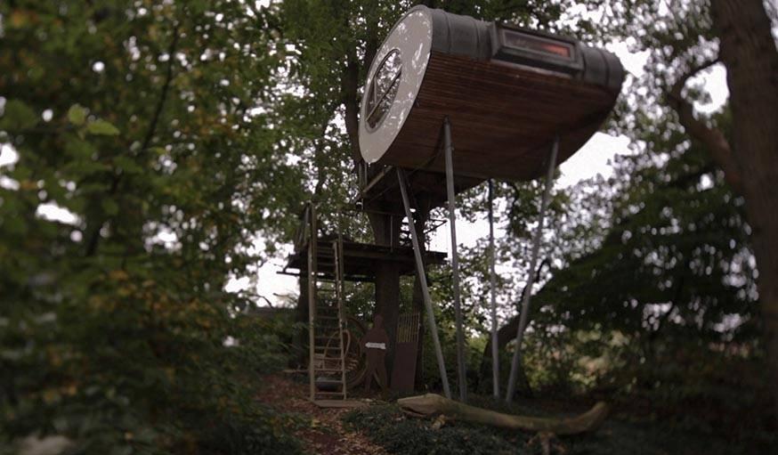 Une cabane très originale d'Andreas Wenning.
