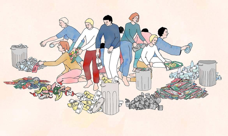 Au Japon, 34 poubelles pour recycler ses déchets