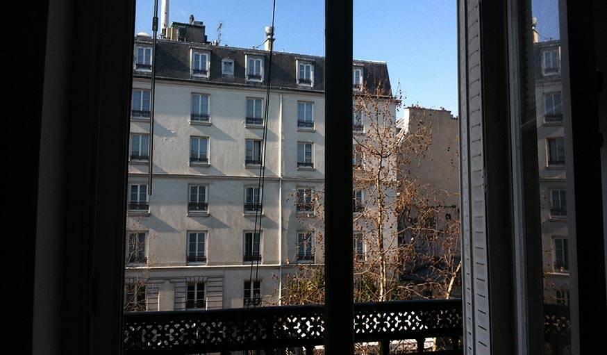 Il fallait immortaliser le 29 février, on n'en voit pas tous les jours, ni tous les ans. Paris.
