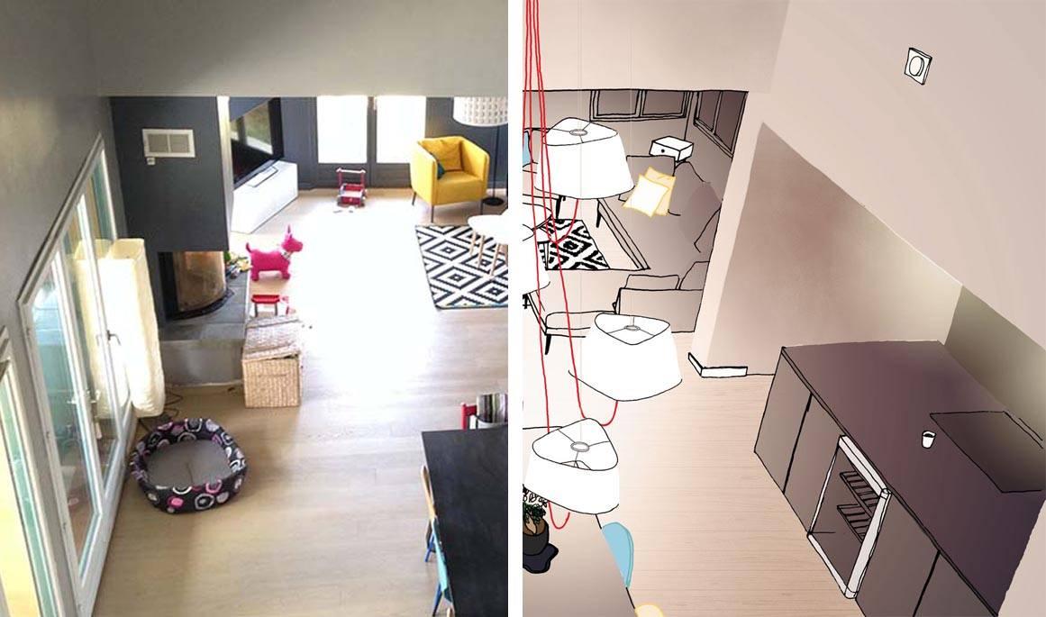 Éclairer Une Piece Sans Fenetre tout quelle lampe pour une grande hauteur sous plafond ? - conseils d