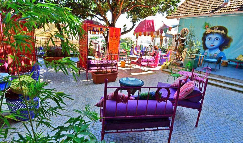 Inspiration : une étonnante terrasse aux couleurs de l'Inde