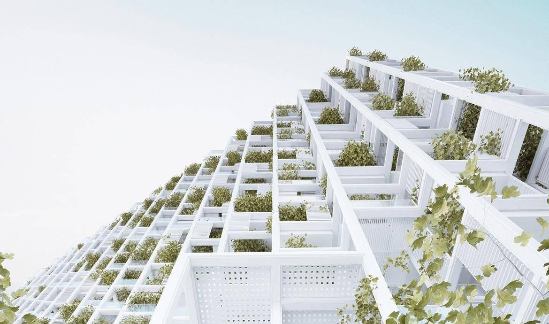 Architecture un immeuble v g talis avec appartements personnalisables - Immeuble vegetal ...