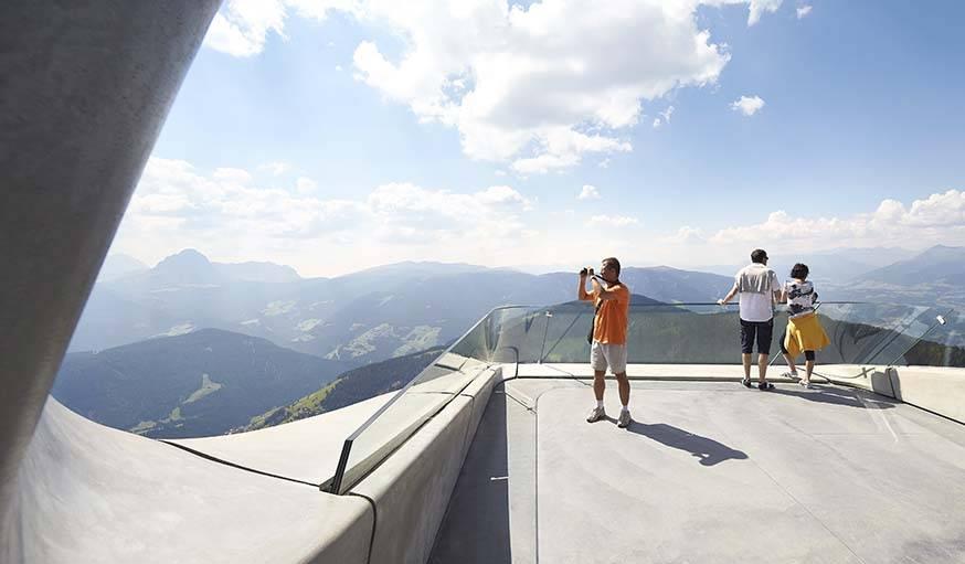 Musée Messner Mountain, par Zaha Hadid.